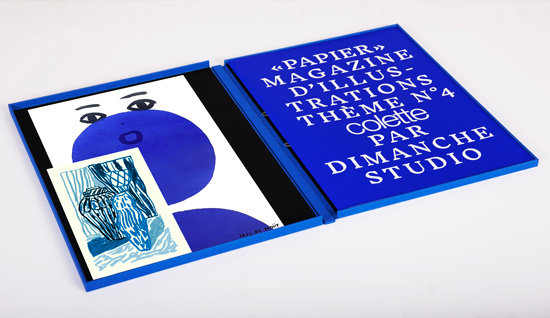 Papier magazine N°4 colette Iris de Mouy