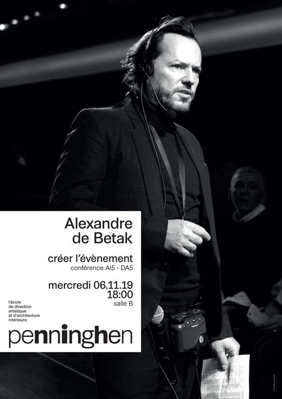 conference Alexandre de Betak  Credit Marie Laure Dutel