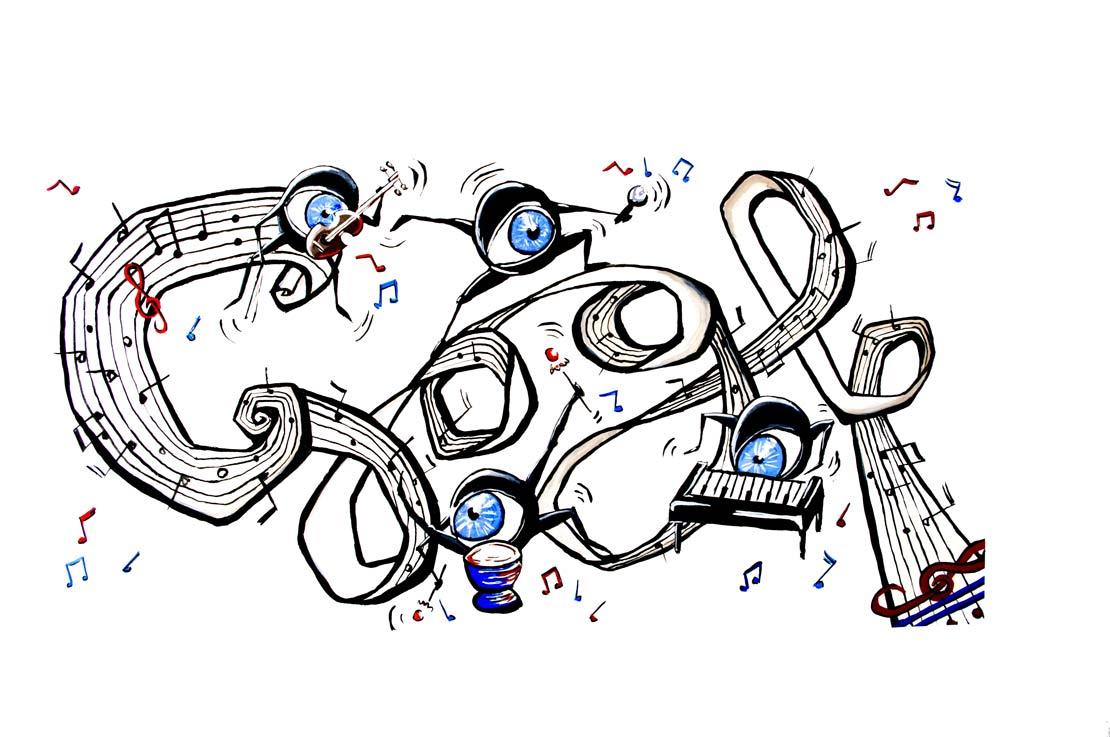 Doodle langage graphique Lucas Gnemmi