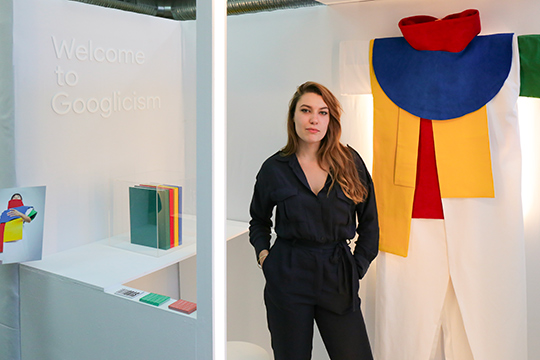 Layla Gras google direction artistique