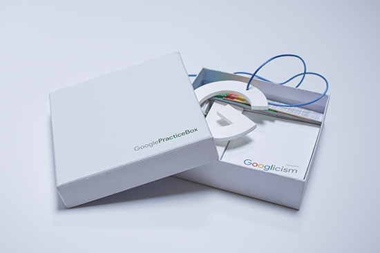 Google goodies direction artistique