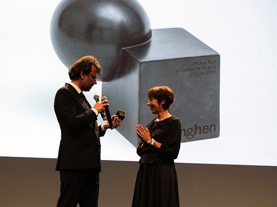 Marie Kalt présidente du jury