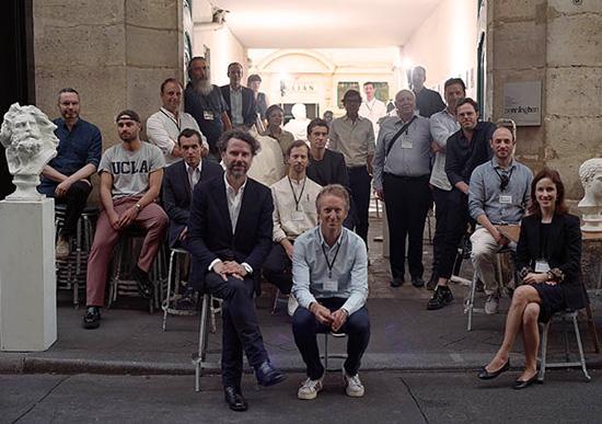 Les membres du jury d'architecture intérieure 2019