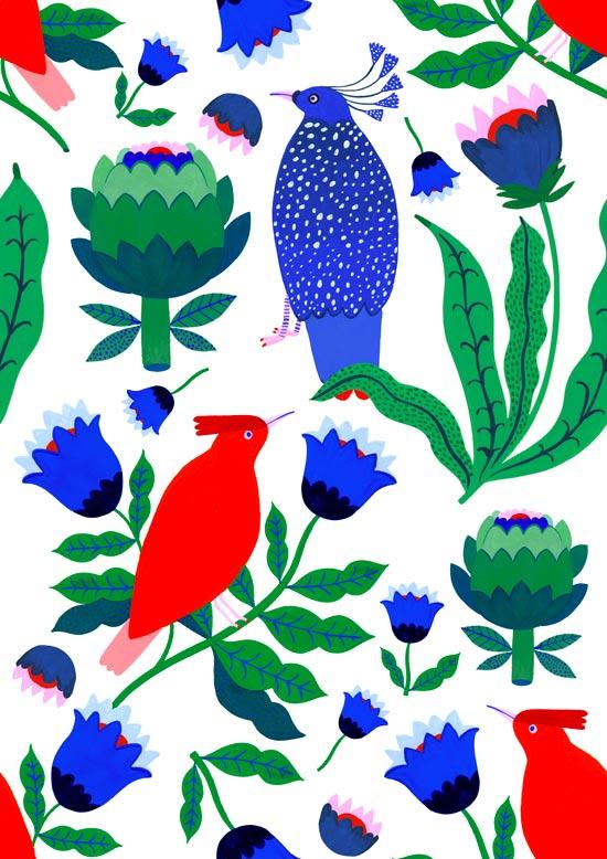 Illustration Agathe Singer école d'art