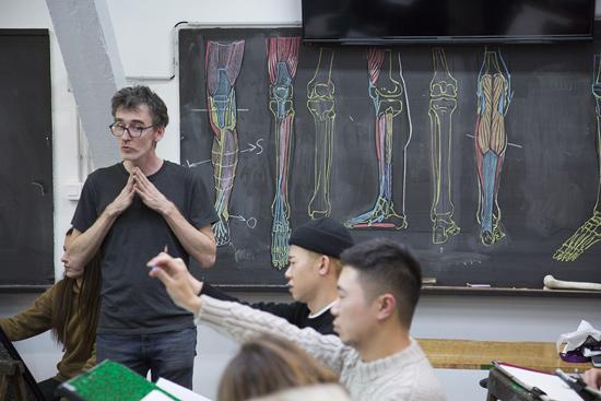cours d'art dessin anatomie