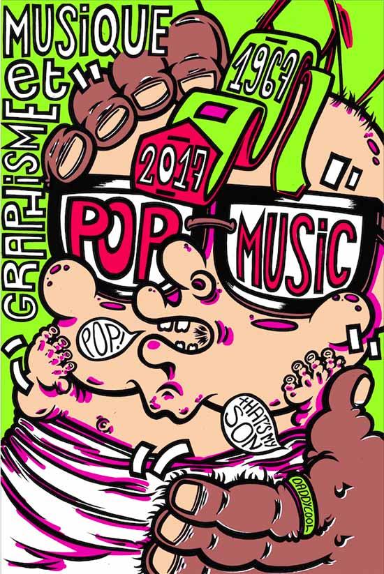 affiche pop music