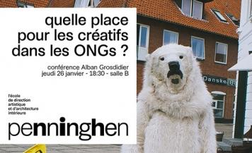 Quelle place pour les créatifs dans les ONGs ?