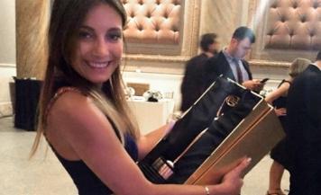 Une étudiante de 4e année gagne un prix au Clio awards