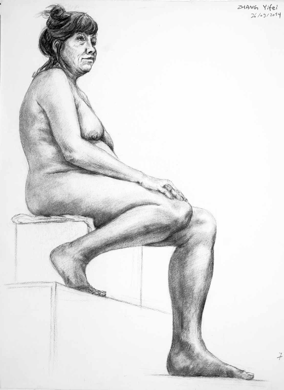 Zhang Yifei dessin