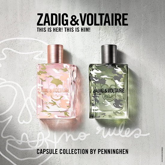 zadig voltaire penninghen parfum this him her collection partenariat